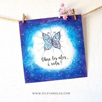 14x14 Obre les ales - Silvia Molas