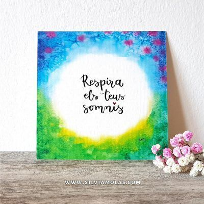 14x14 Respira els teus somnis - Silvia Molas