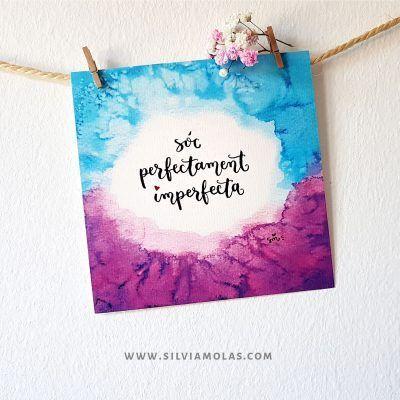 14x14 Sóc perfectament imperfecta - Silvia Molas
