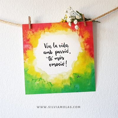 14x14 Viu la vida amb passió - Silvia Molas