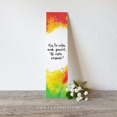 Punt Viu la vida amb passió - Silvia Molas
