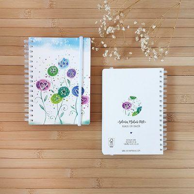 """Llibreta 10x15 cm """"Flors"""""""